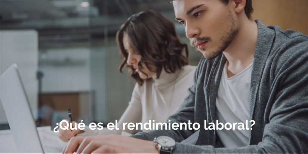 El rendimiento en el trabajo: Profesional y empresarial