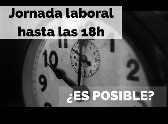 Debate horario en España: ¿conviene acabar la jornada laboral a las 18h?