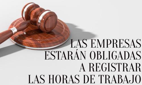 Nueva ley de control horario: El registro de la jornada es obligatorio