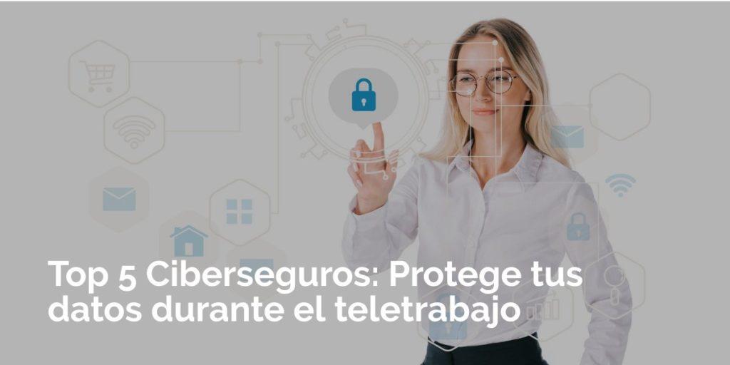 Top 5 Ciberseguros: Protege tus datos durante el teletrabajo