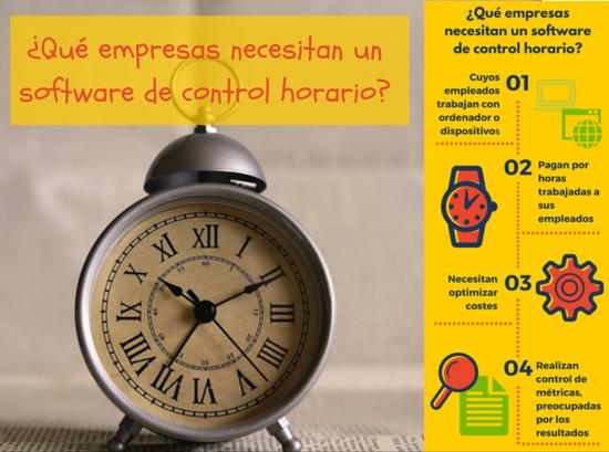 INFOGRAFÍA: ¿Qué empresas necesitan un sistema de control horario?